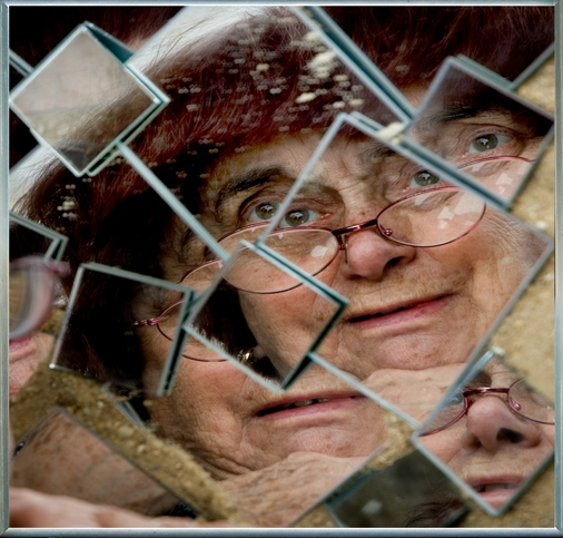 Agnès Varda, Self-portrait, 2009