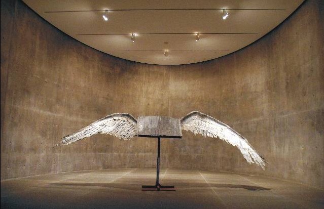 Anselm Kiefer, Book with Wings, 2002