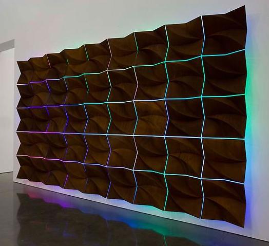 Anselm Reyle, Monochrome Age, 2009.