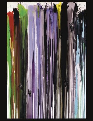 Anselm Reyle, Untitled, 2004.