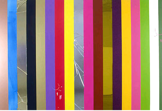 Anselm Reyle, Untitled, 2004