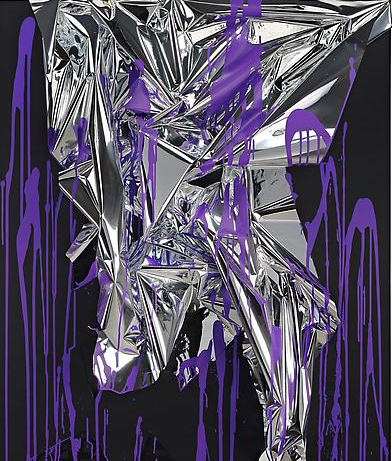 Anselm Reyle, Untitled 2010.