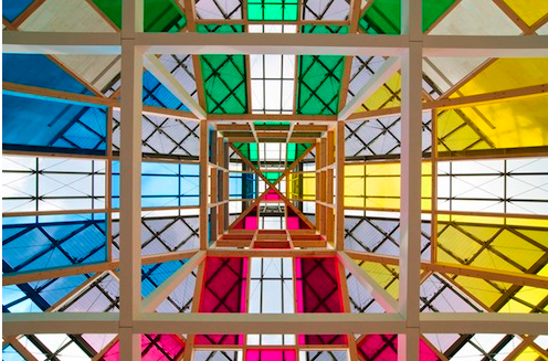 Daniel Buren, Architecture, Anti-architecture Transposition, 2010