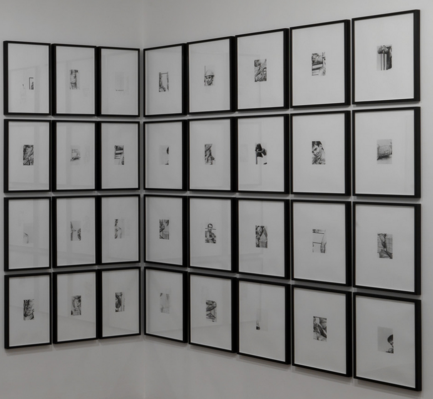 David Lieske, Erotic Art (The individual problem), 2008, Barium-sulphate gelatine prints, 40,2 x 30,2 cm each