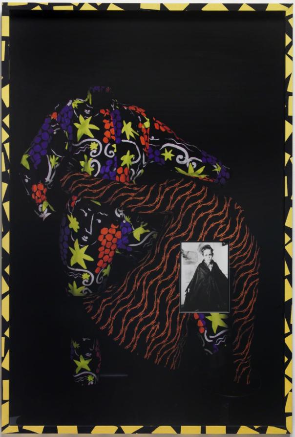 David Lieske, Style and Subversion (I-V) Fig. 4, 2012, 92,5 x 62,2 cm