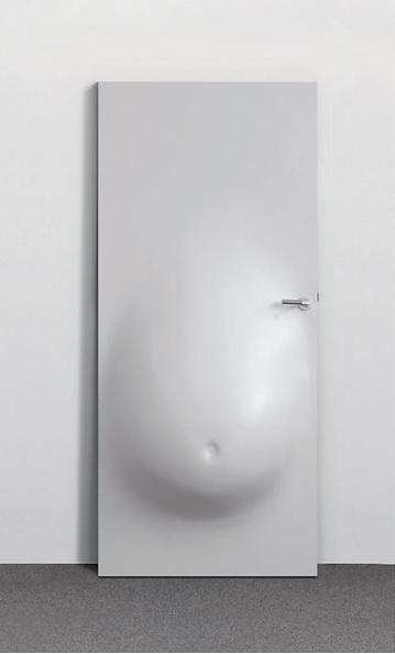 Elmgreen &D ragset, Belly Door, 2006