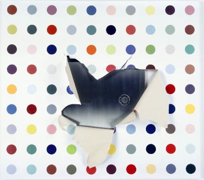 Elmgreen & Dragset, Safe-Dot Painting, 2004