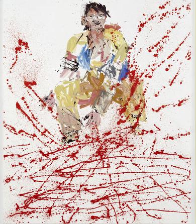 Georg Baselitz, Modern Painters (Remix), 2007