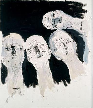 Georg Baselitz, Oberon, Remix, 2005