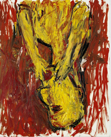 Georg Baselitz, Orange Eater, 1982