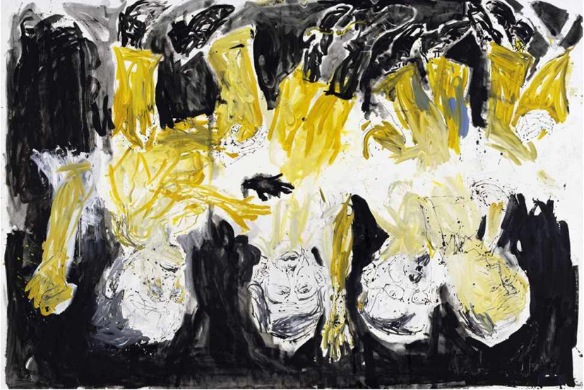 Georg Baselitz, The Bridge Ghost's Supper, 2006