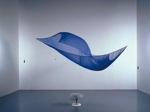 Hans Haacke, Blue Sail, 1964-1965
