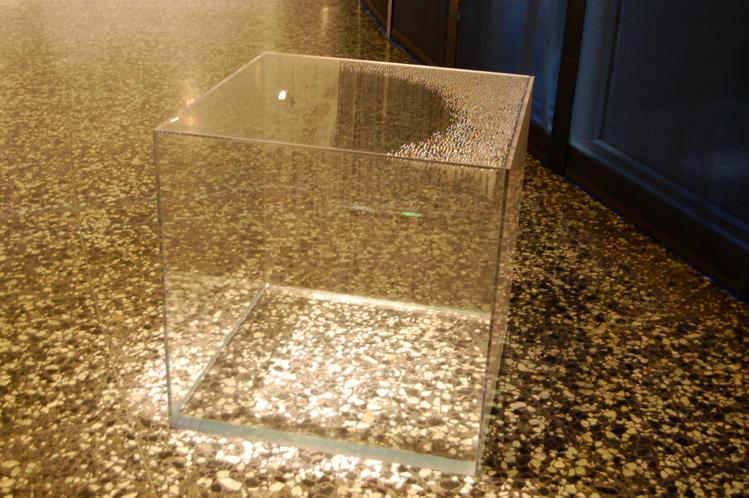 Hans Haacke, Condensation Wall 1963-1965