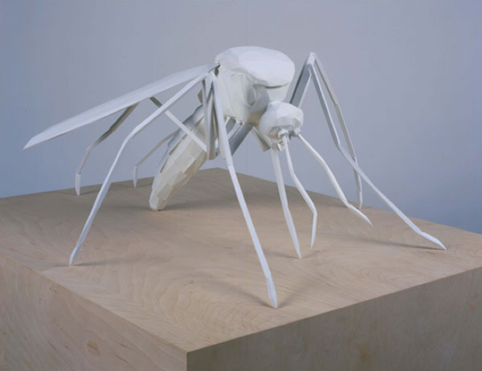 James Angus, Mosquito, 2003, polyrethane, acrylic paint