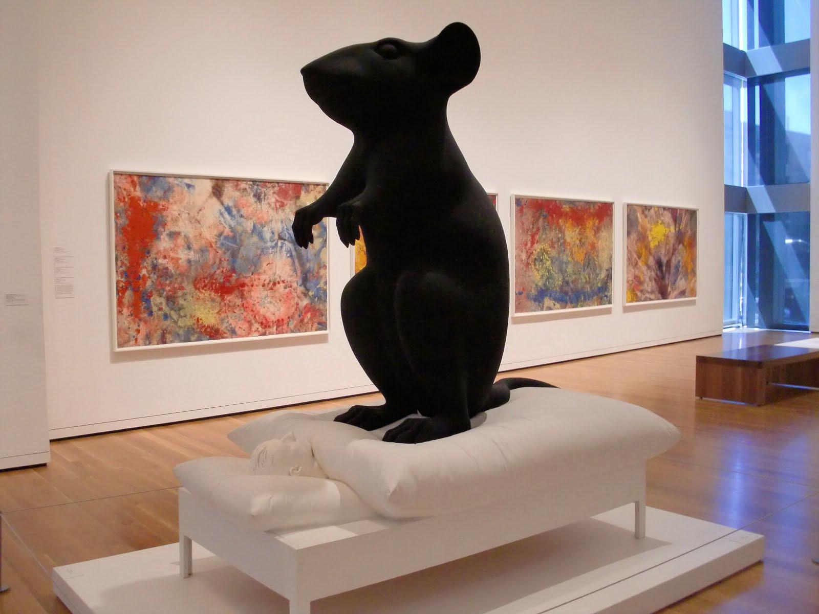 Katharina Fritsch, Man and mouse, 1991-1992