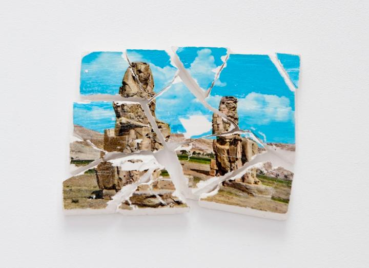 Katrín Sigurdardóttir, 12 pieces, 2011, Plaster, paper, acrylic medium