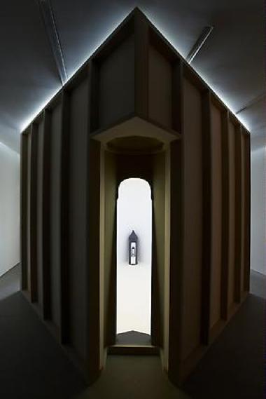 Katrín Sigurdardóttir, Untitled, 2009, Mixed media, 281.9 x 290.2 x 290.2 cm
