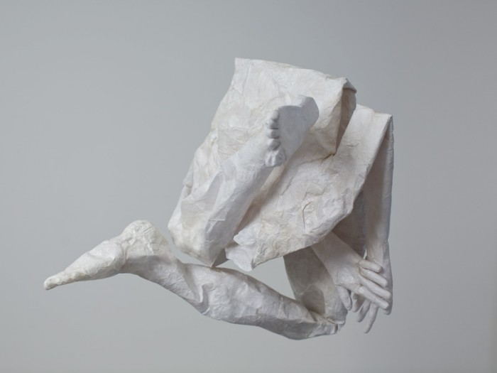Mathilde Roussel, Mue 2010, paper, glue, 27x40in, 2010