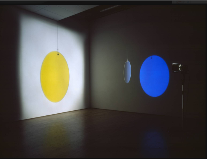 Olafur Eliasson, Yellow versus Purple, 2003