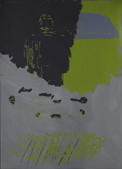 Per Kirkeby, Hansentryk, 2009, silkscreen, 140 x 100 cm.