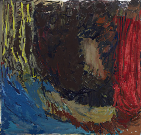 Per Kirkeby, Untitled, 2011, oil on canvas, 200 cm x 210 cm