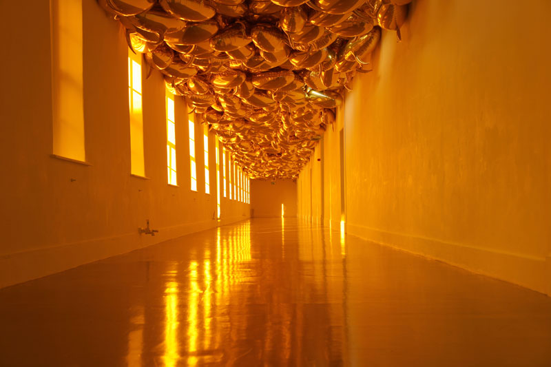 Philippe Parreno, Installation view in Irish Museum of Modern Art, Dublin, 2009