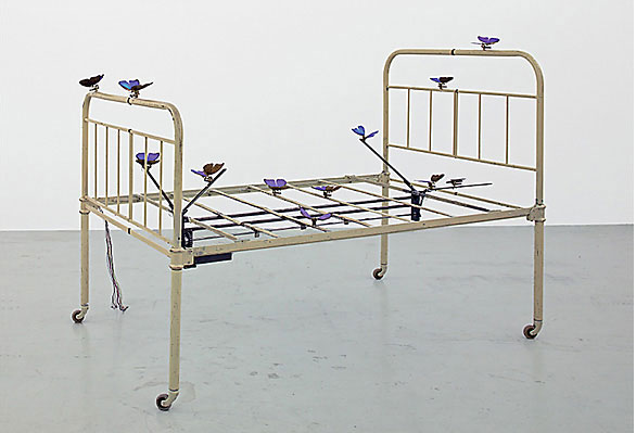 Rebecca Horn, The Lover's Bed, 1990