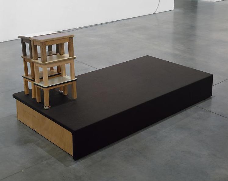 Reinhard Mucha, Eichen ex Freren, (2009), 1984