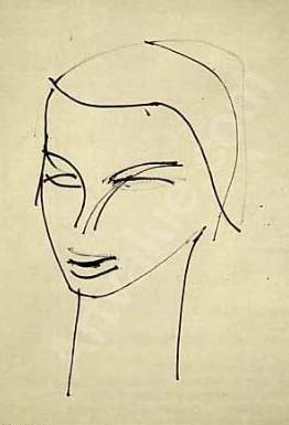 Roman Opalka, Head, 1959