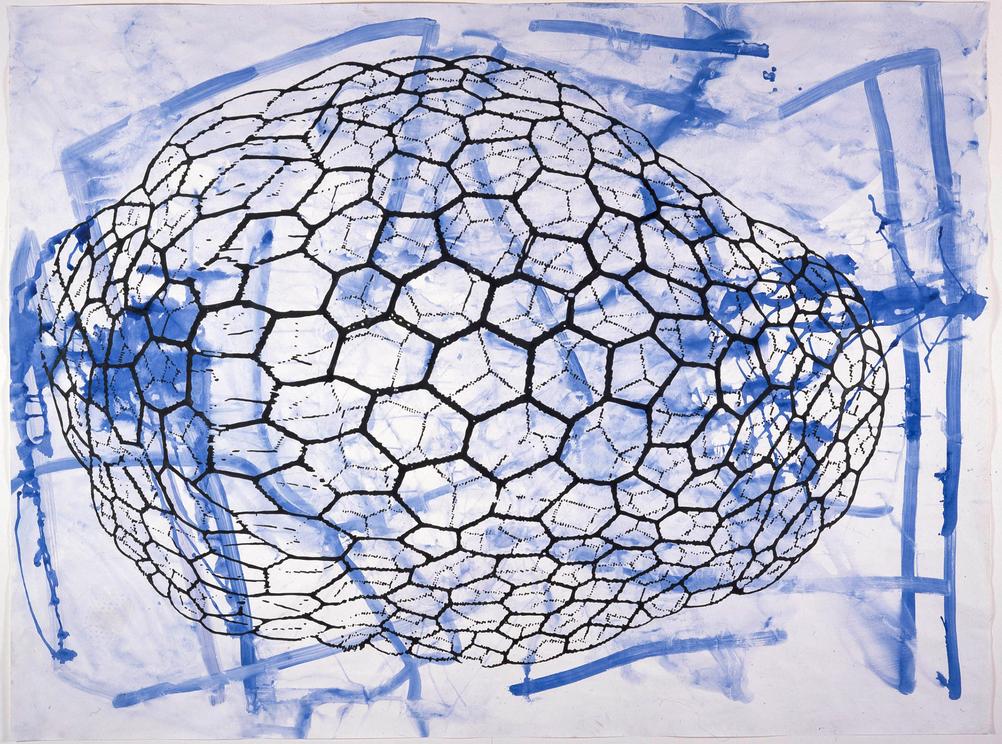 Sigmar Polke, Untitled, 1998, Mixed media on paper, 150 x 200 cm
