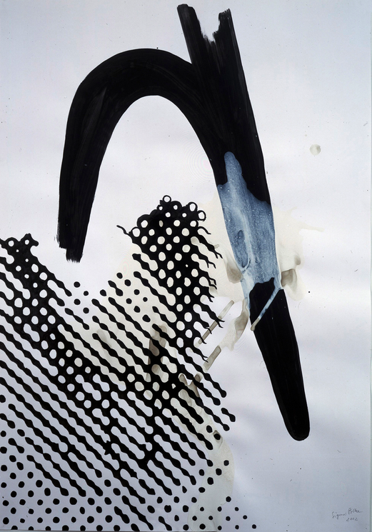 Sigmar Polke, Untitled, 2002, Mixed media, 100 x 70 cm