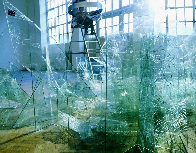Sonja Vordermaier, Fraktal, 2002, 7 x 8 x 9 m