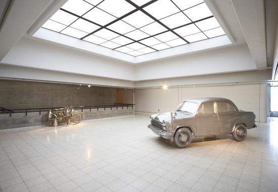 Subodh Gupta, Installation view, 2011, Sara Hildén Art Museum, Tampere, Finland.