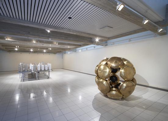 Subodh Gupta, Installation view, 2011, Sara Hildén Art Museum Tampere, Finland.