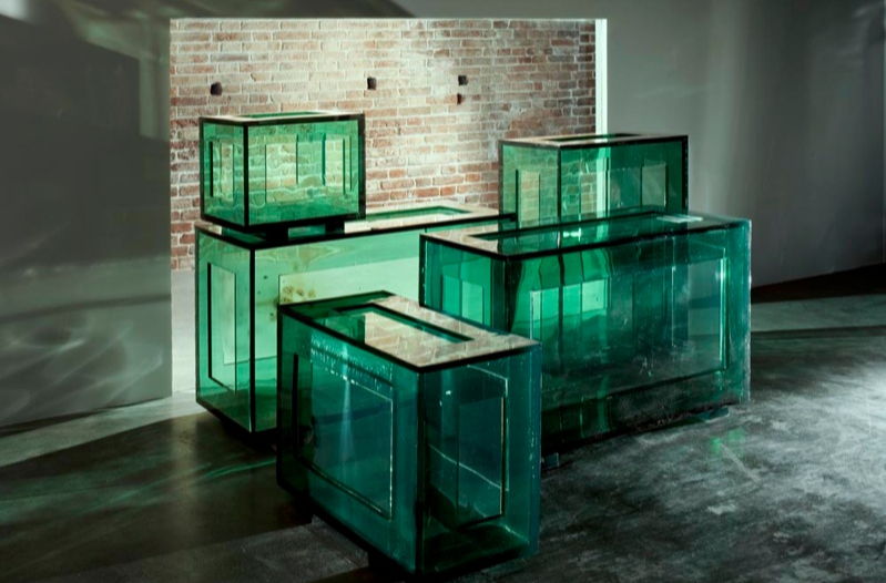 Tatiana Trouvé, View of the exhibition In Praise of Doubt, 2011, Punta Della Dogana, Venice.