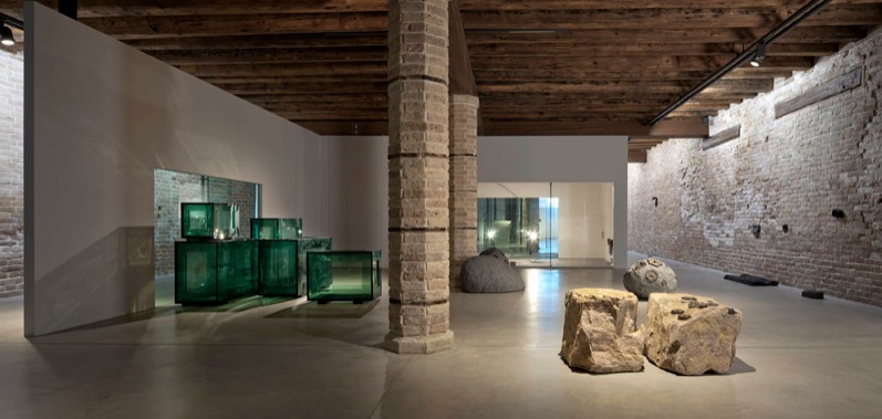Tatiana Trouvé, View of the exhibition In Praise of Doubt, 2011, Punta Della Dogana, Venice