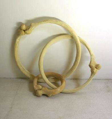 Tunga, Madame Sade's Jewels, 2010, epoxy resin