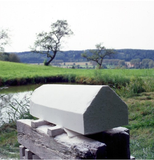 Wolfgang Laib, Rice House, 2002