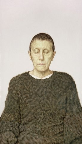 Y.Z. Kami, Untitled, 2006, oil on canvas, 335.3 x 188 cm