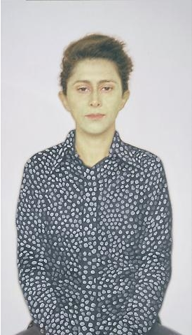 Y.Z. Kami, Untitled (Maryam), 2007, oil on canvas, 294.6 x 167.6 cm