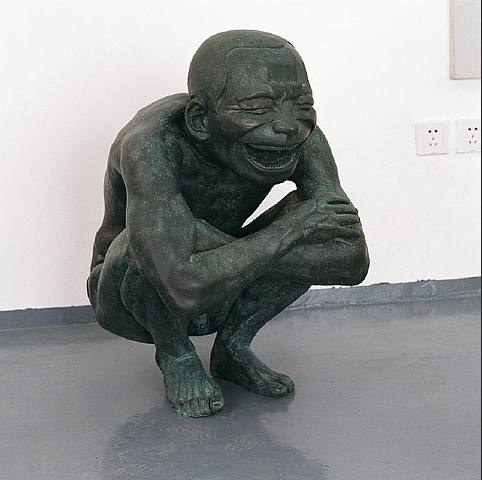 Yue Minjun, Untitled, 2006-2007