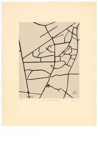 Zarina Hashmi, Cities I Called Home - Aligarh, Image dimension 40.6 x 31.8 cm