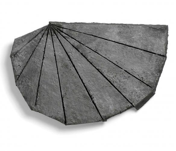 Zarina Hashmi, Shelter, paper casting, 45.7 x 72.4 x 2.5 cm