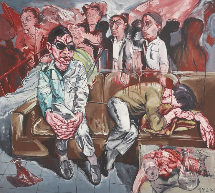 Zeng Fanzhi, Hospital Series, 1994, Oil on canvas, 179,1 x 199,4 cm