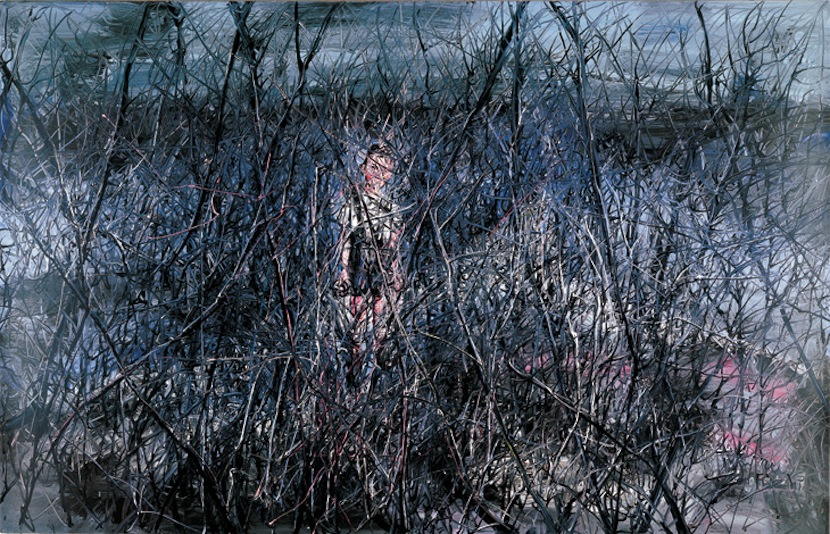 Zeng Fanzhi, Little Boy, 2006, Oil on canvas, 180 x 280 cm
