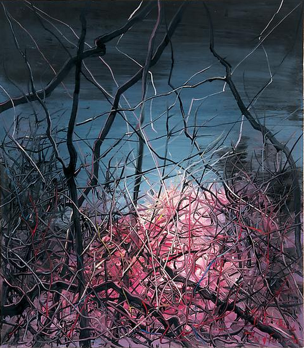 Zeng Fanzhi, Untitled 08-3-2, 2008, Oil on canvas, 120 x 105 cm