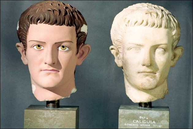 Caligula AD 39-41, the original and Brinkmann's version