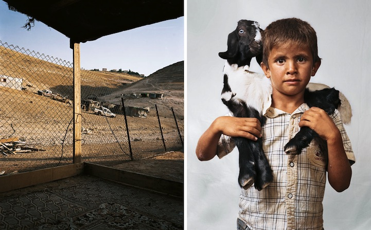 Bilal, 6, Wadi Abu Hindi, The West Bank