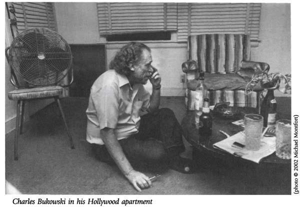 Charles Bukowski, writer