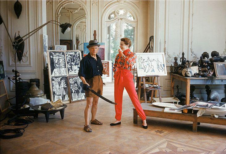 Pablo Picasso, artist.